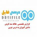 گزارش تخصثص دینی و عربی